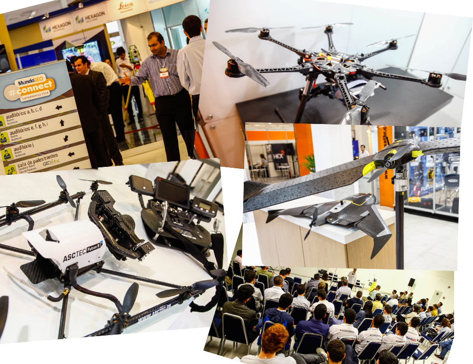 MGEOConnect2015 VANTs1 Unmanned aerial vehicles expand the global aerospace industry