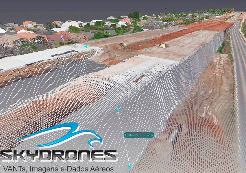 Viaduto Pelotas 3D 4 VANTs são utilizados para mapeamento de projetos de estradas