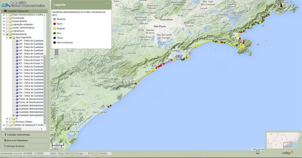 Projeto Datageo 1024x535 Plataformas de dados ambientais de São Paulo e geoespaciais do Exército serão premiados