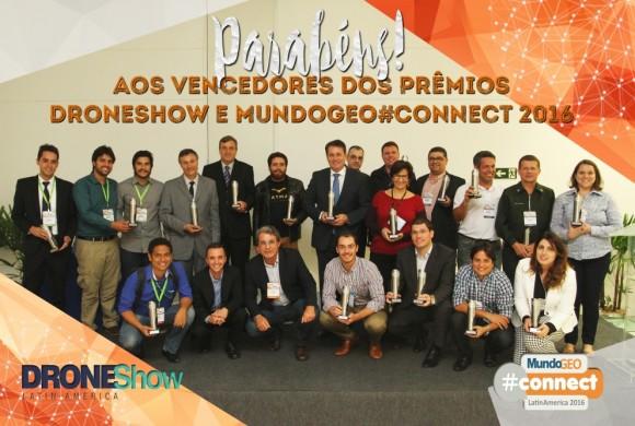 Eventos MundoGEO#Connect e DroneShow 2016 reúnem 3.200 participantes