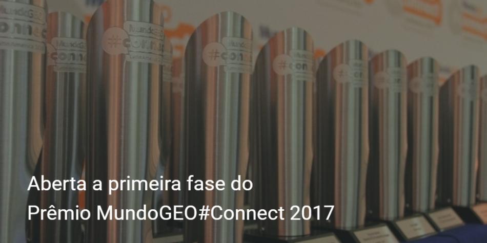 Aberta a primeira fase do Prêmio MundoGEOConnect 2017 950x475 Está aberta a votação no Prêmio MundoGEO#Connect 2017. Vote agora!
