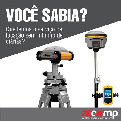 Locação de equipamentos 400x400 Allcomp anuncia novidades para a feira MundoGEO#Connect 2017