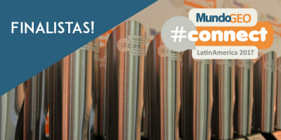 finalistasmg 400x200 Conheça os projetos finalistas do Prêmio MundoGEO#Connect 2017