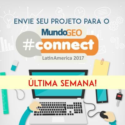 projeto mgeocon1 400x400 Últimos dias para enviar trabalhos para Seminários, Evento Acadêmico e Prêmio MundoGEO#Connect