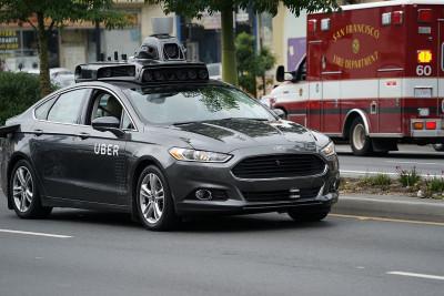 carro autonomo da uber