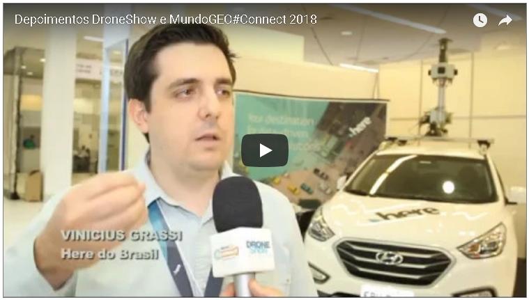 Novo vídeo: depoimentos de expositores do MundoGEO#Connect 2018
