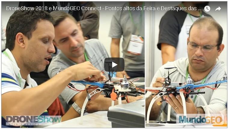 Vídeo oficial: confira os destaques do MundoGEO#Connect 2018