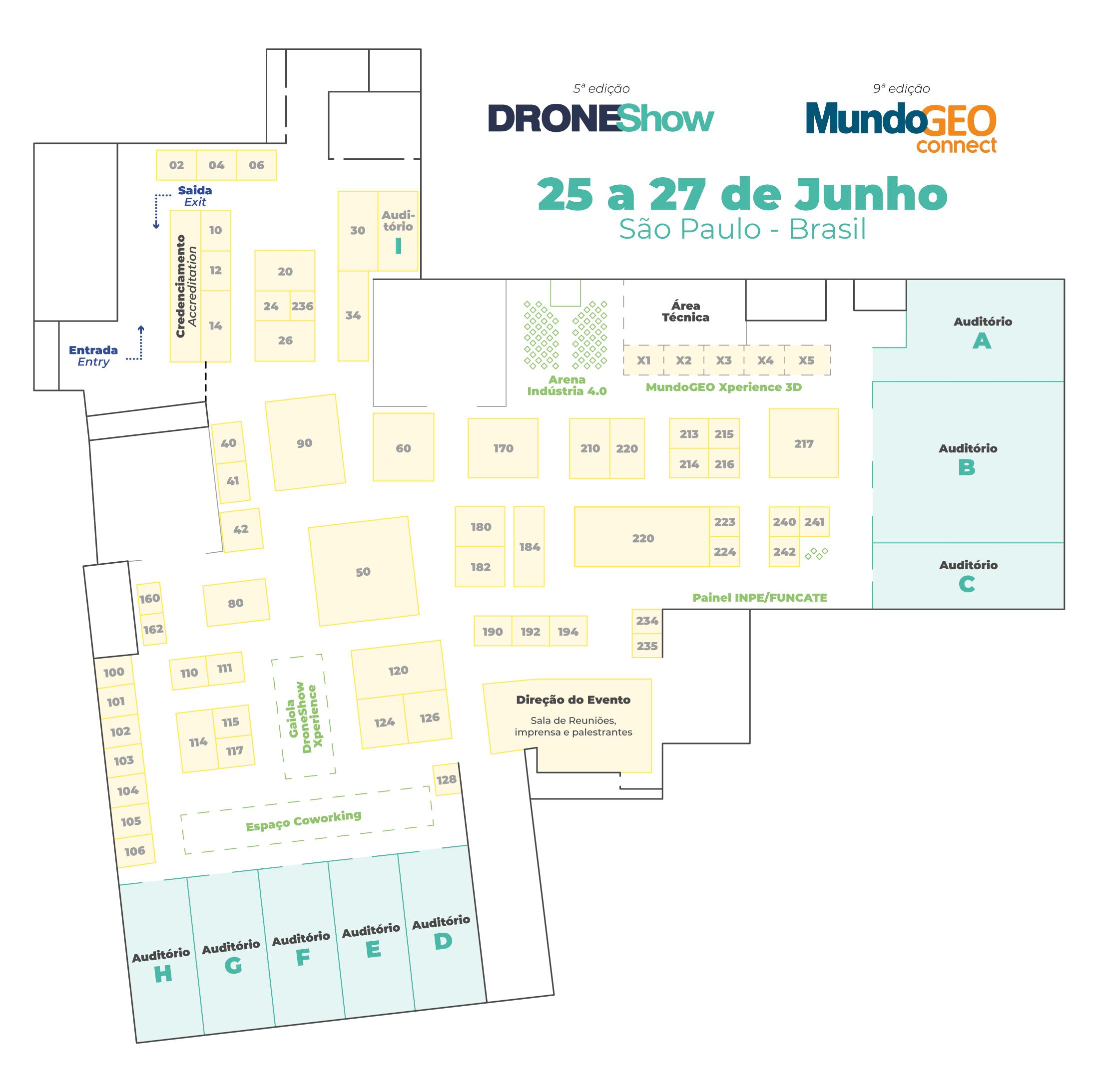 Planta feira DRONE-CONNECT 2019
