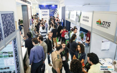 corredores da feira mundogeo 2018 400x250 Grandes marcas nacionales e internacionales concurrirán a la feria DroneShow 2019