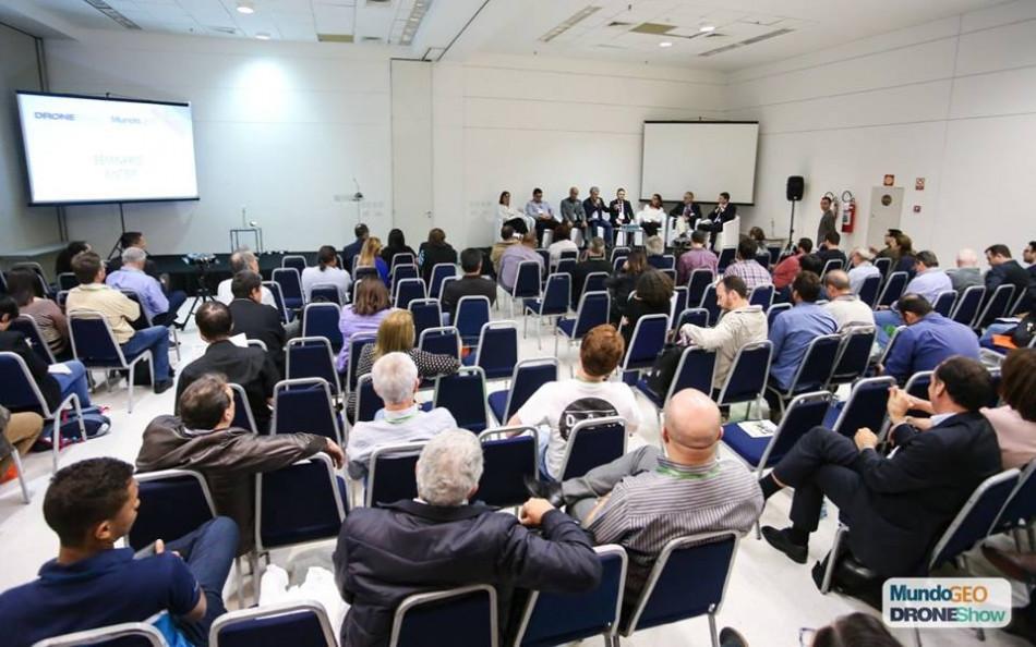 Seminário sobre o Sinter realizado no MundoGEO Connect 2018