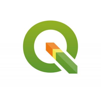 logo do software livre qgis