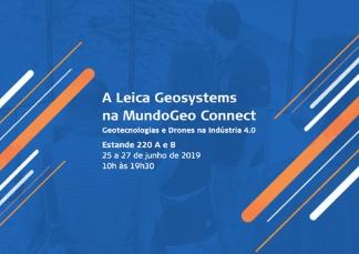 Hexagon apresenta estado-da-arte em Geotecnologias no MundoGEO Connect