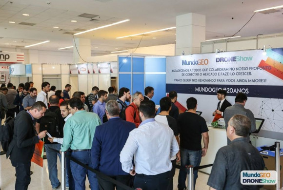 Último lote com desconto no MundoGEO Connect e DroneShow 2019