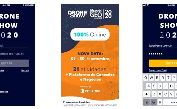 Plataforma de Conexões e Negócios unirá participantes e patrocinadores do MundoGEO Connect e DroneShow 100% Online