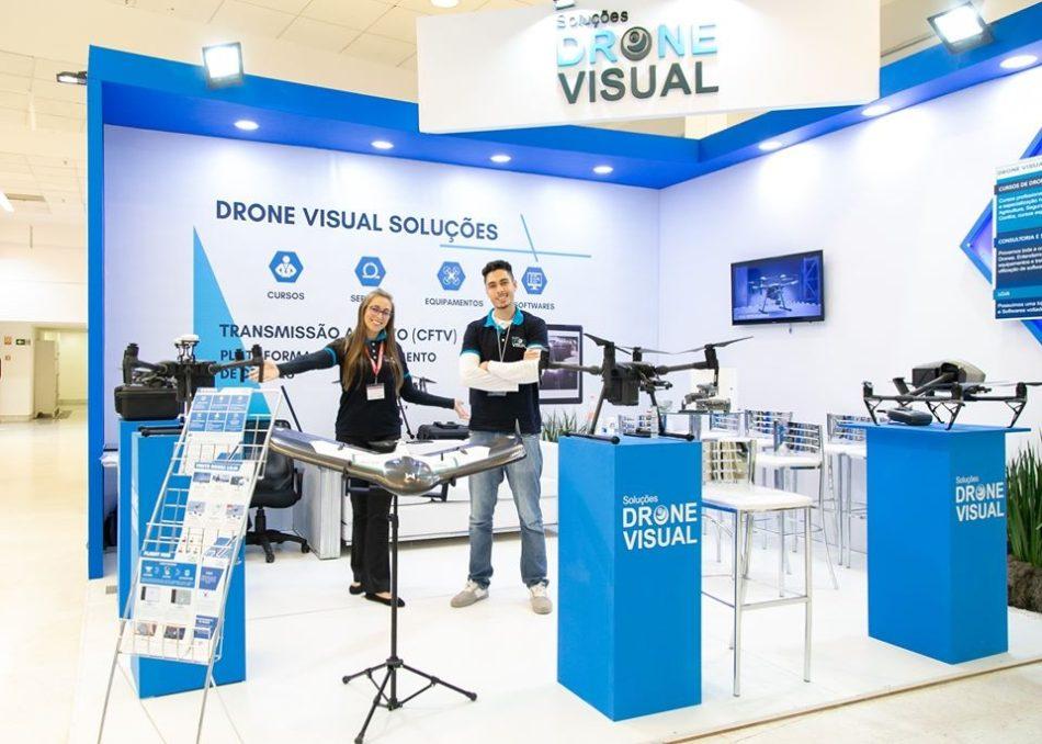 Drone Visual confirmada na Plataforma de Conexões e Negócios do DroneShow e MundoGEO Connect 2020