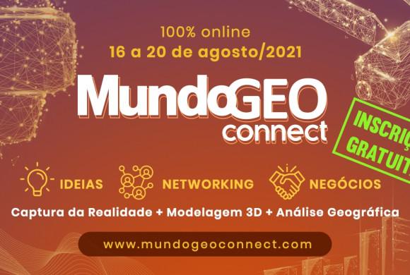 Captura da realidade, Lidar, IA e GeoAnalytics são destaques no MundoGEO Connect 100% online em agosto